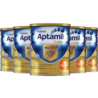 Aptamil 爱他美 金装 婴儿配方奶粉 1段 900g*6罐