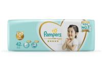Pampers 帮宝适 一级 婴儿纸尿裤 XL42片 *4件