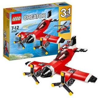 LEGO 乐高 创意百变系列 31047 螺旋桨飞机
