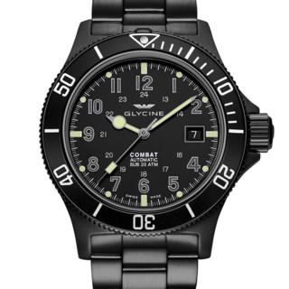 GLYCINE 冠星 Combat Sub系列 GL0079 男士机械腕表