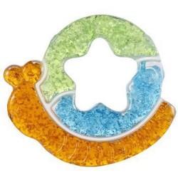 kidsme 亲亲我 宝宝磨牙蜗牛牙胶 婴儿咬牙棒玩具