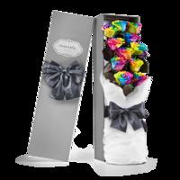 情人节礼物:Roseonly 经典永续 许愿玫瑰 11支 80cm长形