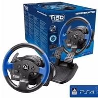 THRUSTMASTER 法拓士 T150 RS Force Feedback 游戏方向盘+踏板 套装