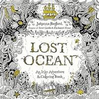 《Lost Ocean》迷失海洋 英文原版涂色书