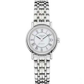 情人节礼物 : LONGINES 浪琴 Presence 瑰丽系列 L4.321.4.11.6 女士机械腕表