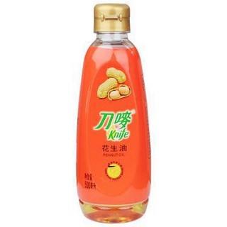 限京东plus会员:刀唛 食用油 压榨一级  花生油500ml 香港品质 *2件