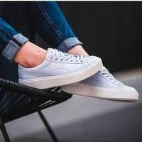 PUMA 彪马 Basket Platform 女士休闲运动鞋