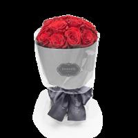 Roseonly 爱在满怀 经典鲜花19支 40cm手捧