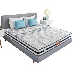喜临门 进口乳胶床垫 独立袋装弹簧床垫 席梦思床垫 美睡 1800*2000