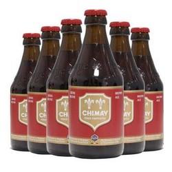比利时进口啤酒 Chimay 智美啤酒 组合装 330ml*6瓶