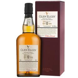 格兰爱琴(Glen Elgin)洋酒 12年陈酿斯贝塞单一麦芽苏格兰威士忌700ml *3件