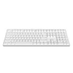 ikbc DC-108 蓝牙机械键盘 原厂cherry轴 樱桃轴  红轴 白色
