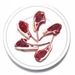 限地区:蒙都 羔羊法式羊排 内约6片 480g *8件