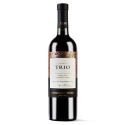 Concha y Toro 干露 三重奏 美乐/卡曼纳/西拉珍藏 干红葡萄酒 750ml