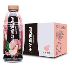 日加满 力水运动饮料(水蜜桃味) 600ml*15瓶 整箱 *2件