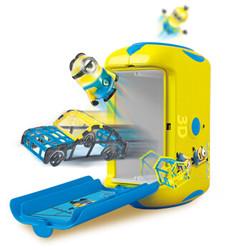 神偷奶爸 3D创意魔法打印泥(儿童手工制作DIY立体益智玩具橡皮泥彩泥小黄人玩具)MN-5510