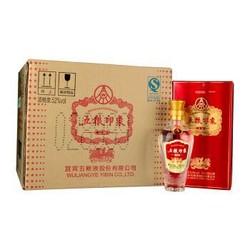 五粮液股份公司出品 五粮印象精制 52度浓香型白酒 500ml*6瓶 整箱装 *2件