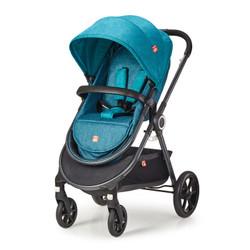 gb 好孩子  GB101 多功能婴儿推车 蓝绿