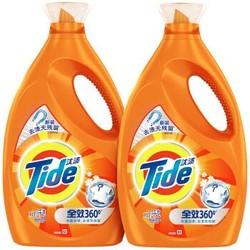 汰渍 全效360度洗衣液(洁雅百合)3kg*2/瓶(新旧包装随机发货)