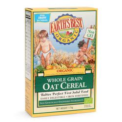 EARTH'S BEST 爱思贝 婴幼儿有机米粉 175g 燕麦味