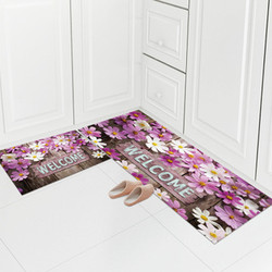 亿安 厨房防滑厨房地垫两片