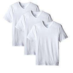 TOMMY HILFIGER 汤米·希尔费格 09TVN01 男士V领T恤 3件装