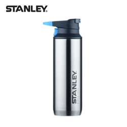 Stanley山地系列一键式不锈钢真空保温随行杯354毫升 不锈钢色 *3件
