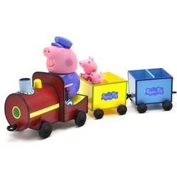 Peppa Pig 小猪佩奇 火车套装 过家家玩具
