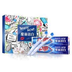 ZHONGHUA 中华 魔丽迅白 冰川酷爽 170g*2支+2支牙刷超值套装