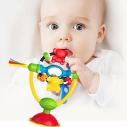 Playgro 派高乐 牙胶安抚摇铃玩具 小猴仔
