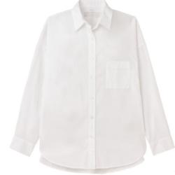 MUJI 无印良品 27AC712 女士衬衫