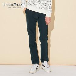 Teenie Weenie TNTC64T01K 男装棉休闲裤