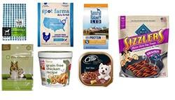 亚马逊狗狗食物样品包括狗粮、罐头以及零食等热卖