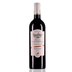Chateau Saint-christoly 圣克里斯图酒庄 干红葡萄酒 2013年 750ml *5件