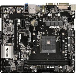 华擎(ASRock)A320M-HDV主板(AMD A320/AM4 Socket)