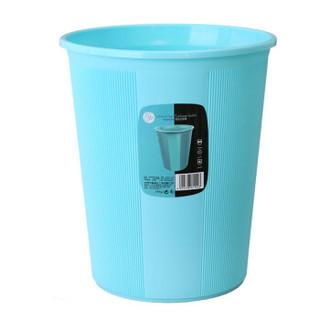 vivian 中号竖纹垃圾桶 WWA-1102 *3件