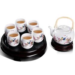 洛威 提梁壶 陶瓷茶具 9件套