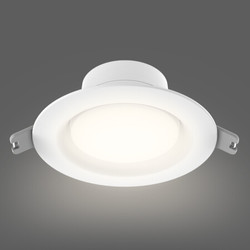 Yeelight LED筒灯客厅天花板吊顶灯走廊玄关灯嵌入式孔洞灯 5W 4000k暖白光版小米生态链