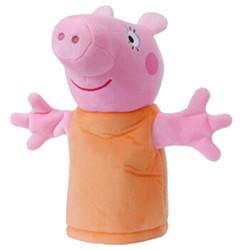 小猪佩奇(PeppaPig)毛绒玩具 粉红猪小妹 儿童互动安抚玩偶 公仔娃娃 26cm 猪妈手偶 *2件