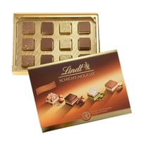Lindt 瑞士莲 夹心层牛轧糖果仁巧克力 125g *3盒