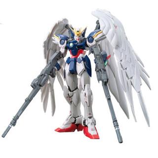 万代(BANDAI)高达Gundam拼插拼装模型玩具 RG版 17零式飞翼敢达EW版HGD-194380