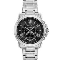 SEIKO 精工 峰极系列 SSC597 男士太阳能时装腕表