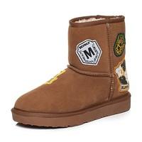 Teenmix 天美意 56501DD7 女士雪地靴