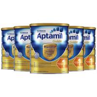 Aptamil 爱他美 金装1段婴幼儿奶粉 900g  *6件