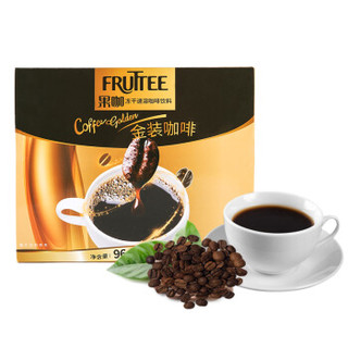 FRUTTEE 果咖 进口 黑咖啡 冻干速溶咖啡饮料 96g