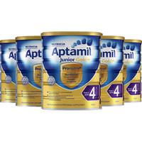Aptamil 爱他美 金装4段婴幼儿奶粉 900g*6罐