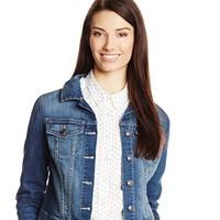 Jessica Simpson 杰西卡 Pixie Crop女款长袖牛仔外套