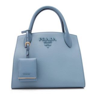 PRADA 普拉达 Saffiano Cuir City 女士真皮手提包