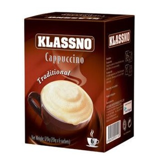 Klassno 卡司诺 卡布奇诺原味咖啡 120g *8件
