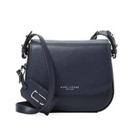 MARC JACOBS Leather Messenger  女士真皮斜挎包